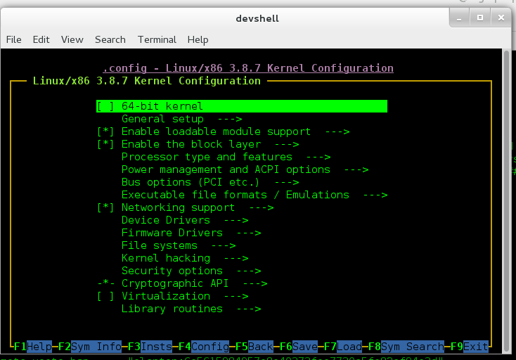 Reconfiguring Linux kernel and adding drivers into Galileo's Linux image